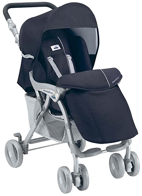 Cam - Cochecito de bebé, modelo Portofino 822 Blu/Grigio (col 27)