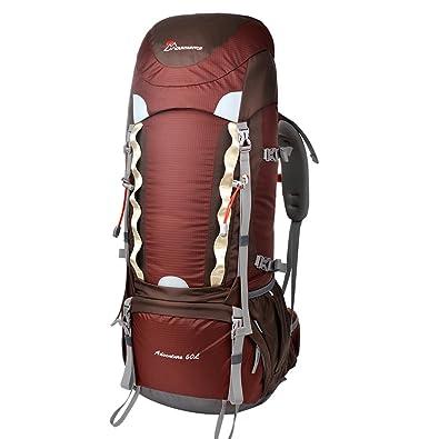 79f4c69b2d7f マウンテントップ(Mountaintop)60L 登山バッグ 自転車 ハイキング バックパック -M651II