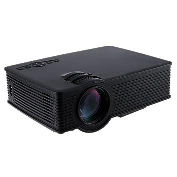 GP - 9 Mini Proyector Videoproyector portátil 2000 Lumens 1920 x ...