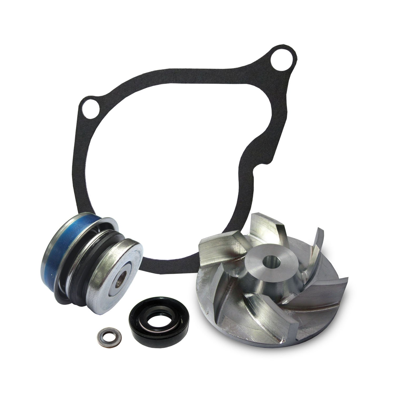 Polaris Sportsman 400 500 Water Pump Rebuild Kit with Billet Impeller by Quad Logic