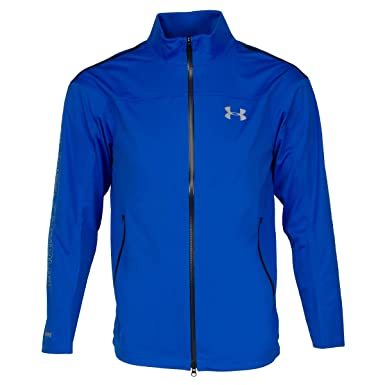 Under Armour Mens WINDSTOPPER Golf Jacket Medium ULTRA BLUE
