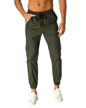 MODCHOK Uomo Pantaloni Lunghi Jogging Cargo Sport Chino Jogger Tuta  Sportiva  Amazon.it  Abbigliamento 08eb4661769