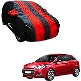 Autofurnish Stripe Car Body Cover for Hyundai Elite i20 (Arc Blue)