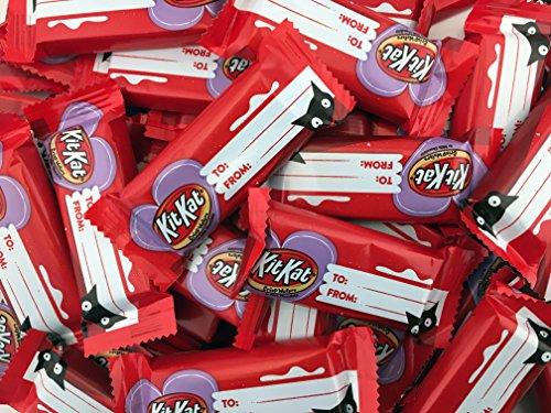 034000076666 - KIT KAT Halloween Snack Size Wafer Bars (20.1-Ounce Bag) (Halloween Candy) carousel main 0