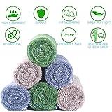YoulerTex Premium Bamboo Washcloths, 6 Pack