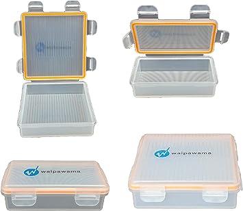 waipawama Caja de baterías para 18650 baterías, Caja de Almacenamiento a Prueba de Agua: Amazon.es: Electrónica