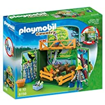 Playmobil Forest Animals Play Box Building Set