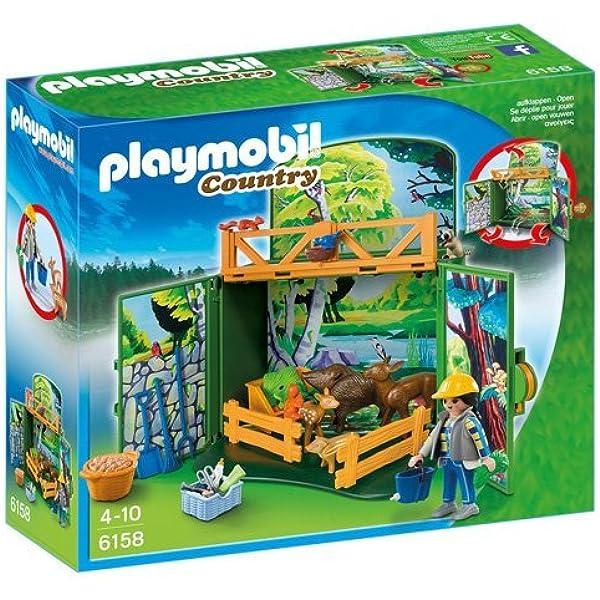 PLAYMOBIL - Cofre de Bosque (61580): Amazon.es: Juguetes y juegos