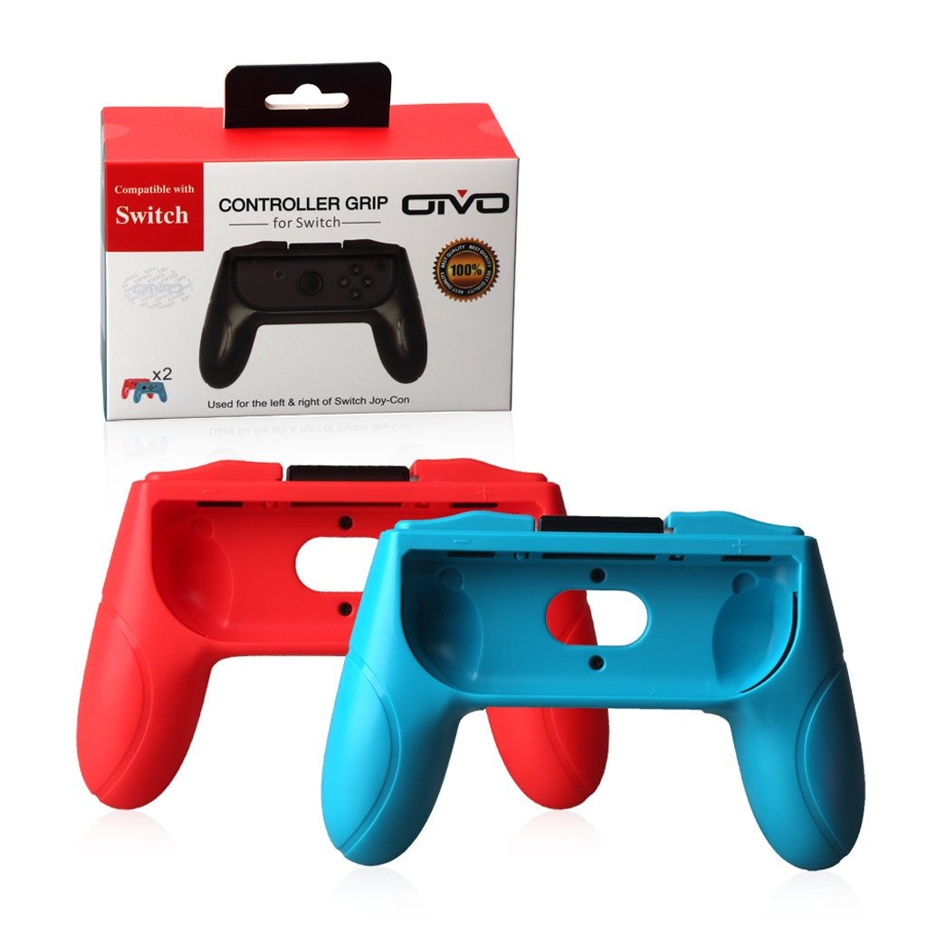 2Pcs Controller Grip Handle Holder Stand For