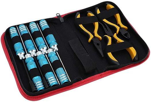 Dilwe 10Pcs / Pack Destornillador Hexagonal Llave de Ranura ...