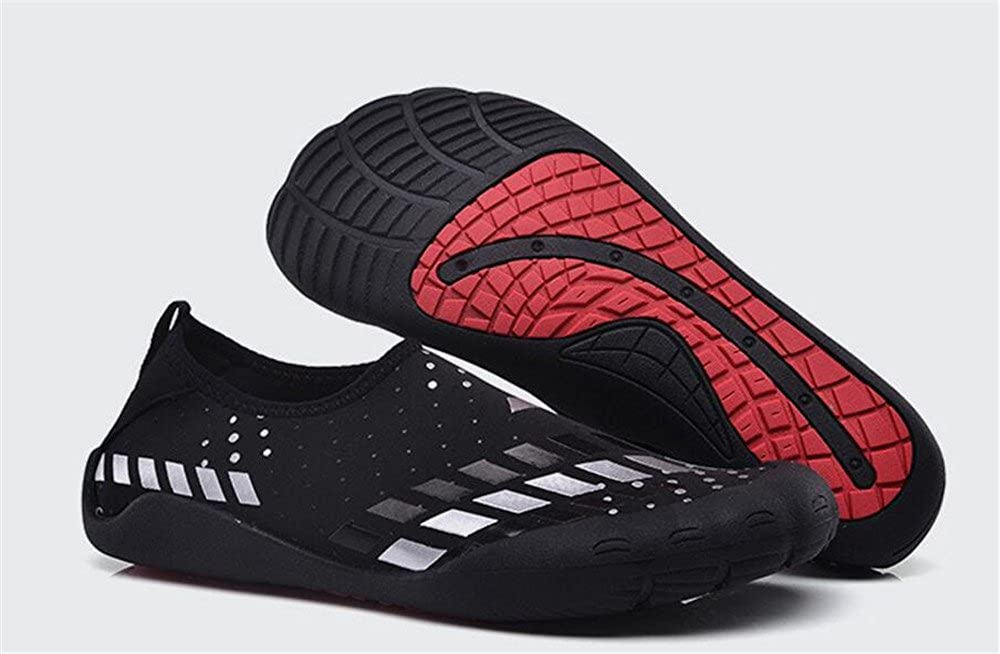 eleganceoo Unisex Water Shoes Barefoot Skin Shoes for Run Dive Surf Swim Beach