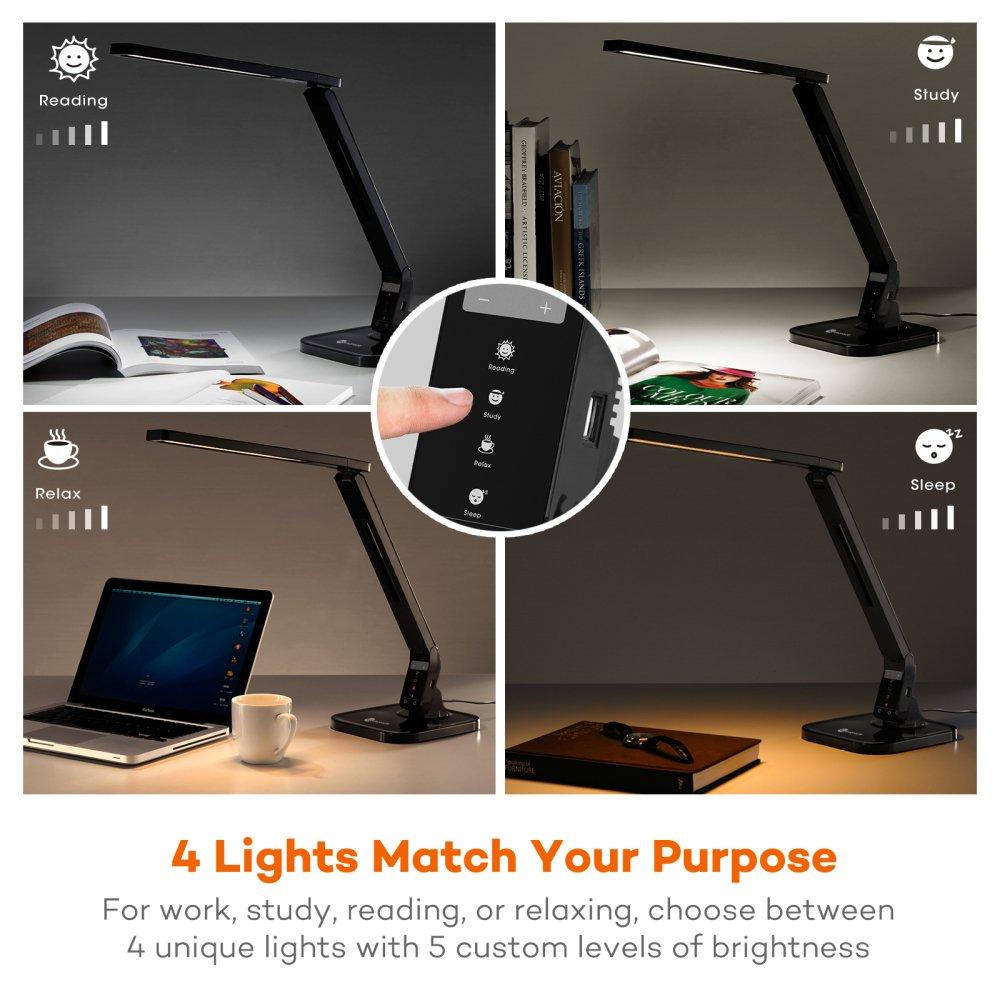 Lámpara Escritorio USB LED, 14W