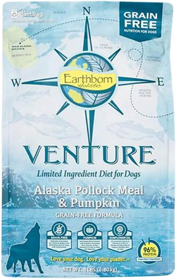 Earthborn Holistic Venture Alaska Pollock & Pumpkin Grain Free Dry Dog Food