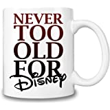 Disney Themed Coffee Mug – Disney Hot & Cold Beverages Cup – Top Quality Ceramic - 11 oz. / 325 ml – The Best Gift For Every Disney Fan – Must Have Disney Accessory