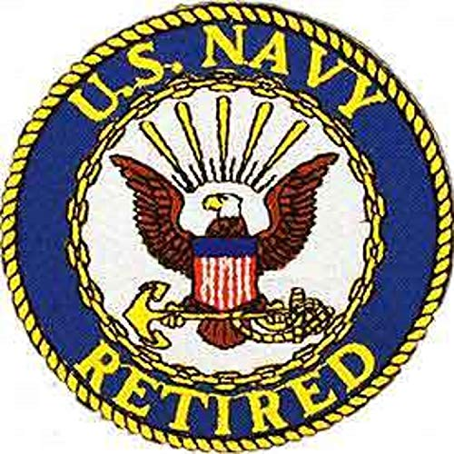 US Navy Logo Retired Iron-On Patch