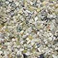 "Midwest Hearth Natural Decorative Jade Bean Pebbles 1/5"" Size"