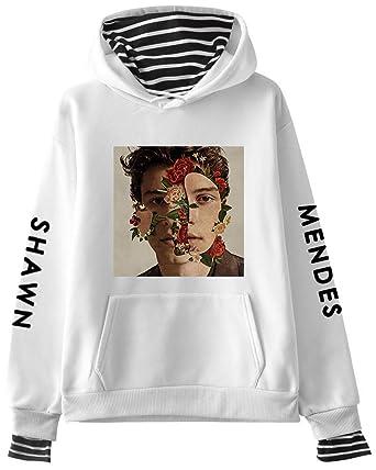 Leslady Sudaderas con Capucha de Primavera diseño Simple para Fans de Shawn Mendes para Mujer: Amazon.es: Ropa y accesorios
