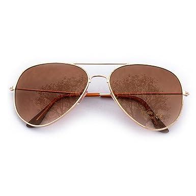 Lunettes de soleil style aviateur avec verres miroir style aviateur-film de  protection d  44d668fce3b8