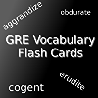 GRE Vocabulary Flash Cards (299 Words and Definitions)
