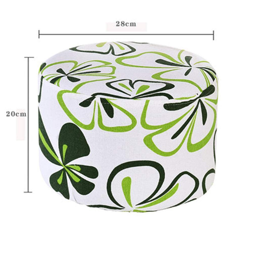 K HATHOR23 Stools Wooden Bench Small Stool Home Fruit Stool Fashion Creative Bench Sofa Stool Solid Wood Stool Fabric Stool Sitting Stool (color   F)