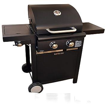 ke grill Barbacoa A Gas 2 Fuegos con hornillo 108 x 53 x 108 cm mobiliario