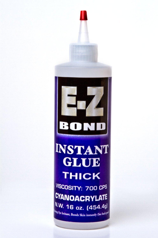 EZ Bond Cyanoacrylate Instant Glue Thick Adhesive 16 OZ - Strongest Bond on the Market by EZ Bond