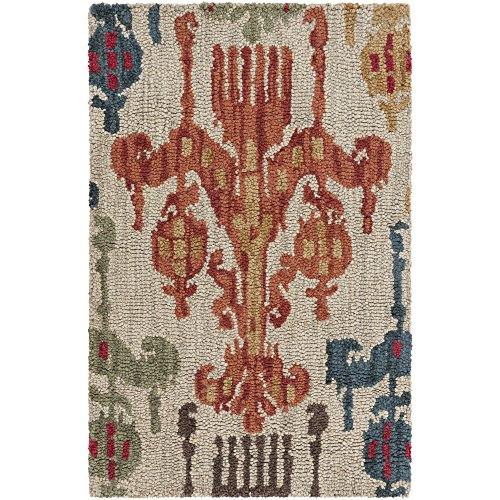 Surya Centennial CNT-1060 Transitional Hand Tufted 100% Wool Silver Cloud 2'6'' x 8' Global Runner by Surya
