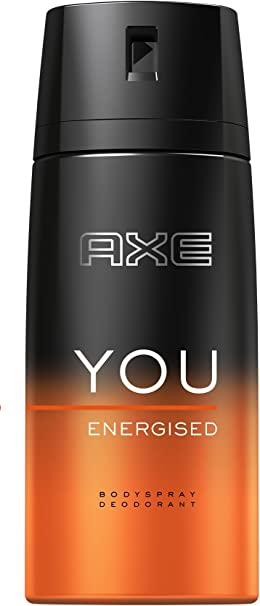 Axe Desodorante Spray You energised sin aluminio salze, 6 pack (6 ...