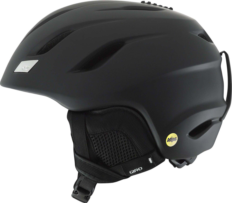 [ジロ] メンズ NINE MIPS AF ナイン ミップス アジアンフィット スノーボードヘルメット Matte 黒 70817  Large
