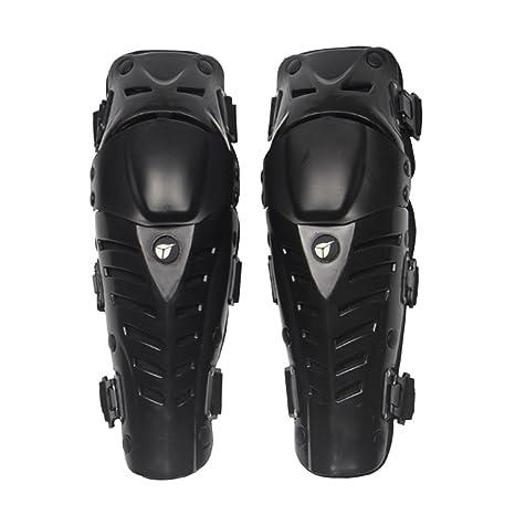 Red Homyl 2Pcs Knee Shin Protector Guard for Motorcycle Motocross Cycling Dirt Bike Bicycle Biking