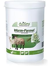 AniForte Wurm-Formel 400 g für Schafe, Ziegen und Nutztiere, praktische und 100 Prozent natürliche Einmalgabe bei und nach Wurmbefall