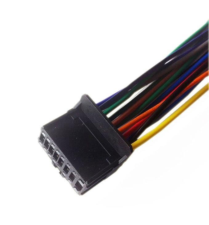 amazon com pioneer avh p4100dvd player wiring harness plug  pioneer avh p4000dvd installation manual