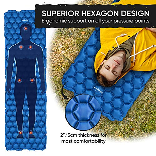 Sleeping on the ground doesn't have to be hard