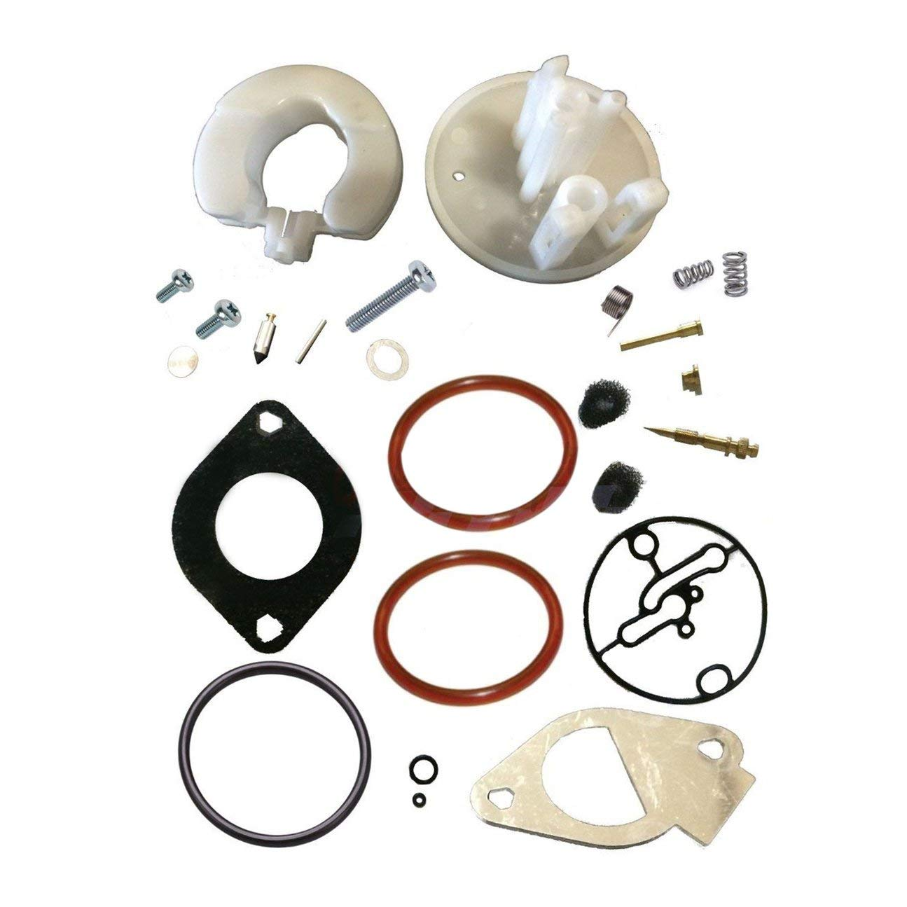 Kit de r/éparation de Voiture ma/ître pour kit de r/éparation de carburateur Convient pour Briggs pour Stratton pour Nikki pour Craftsman pour Moteurs 11HP-19HP Multicolore