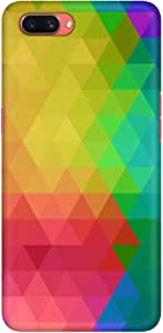 Stylizedd Oppo A3s Slim Snap Basic Case Cover Matte Finish - Tropical Prism