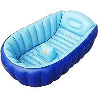 SESO UK- Baignoire gonflable pour bébé (pour 0-5 ans), mini-piscine portable pour enfant ( Couleur : Bleu )
