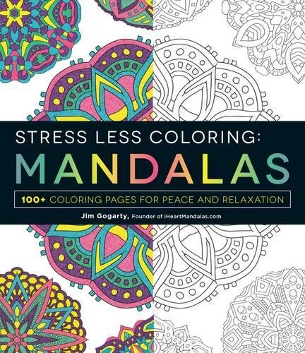 Stress Less Coloring Mandalas Relaxation product image
