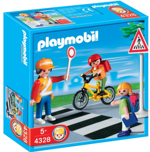 ssing Guard Construction Set with Kids (Playmobil Guard)