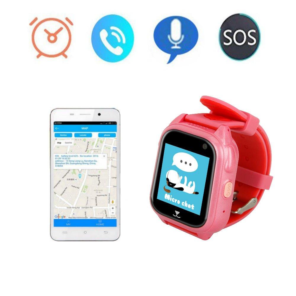 Kids Smart Watch, TKSTAR GPS Location Tracker Kids Real-Time