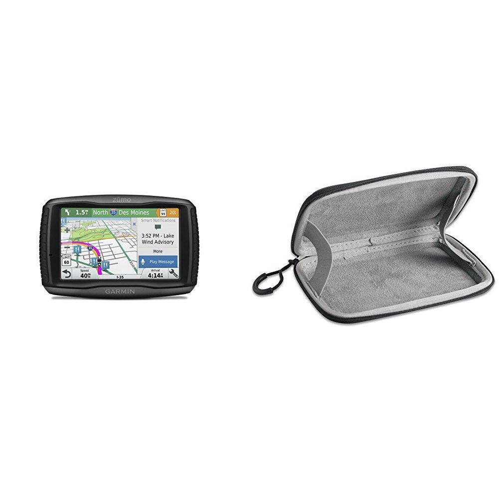 Garmin Zumo 595LM and Carrying Case Bundle