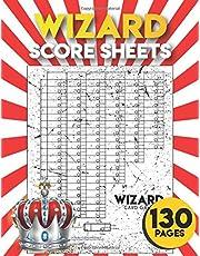 wizard score sheets: 130 Large wizards score pads for scorekeeping