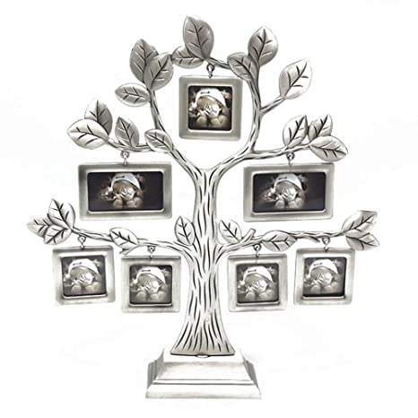 Amazoncom Chelseabyt Family Tree Frame With 7 Hanging Picture