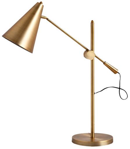 "Corrigan Studio 26"" H Table Lamp with Cone Shade | AllModern"