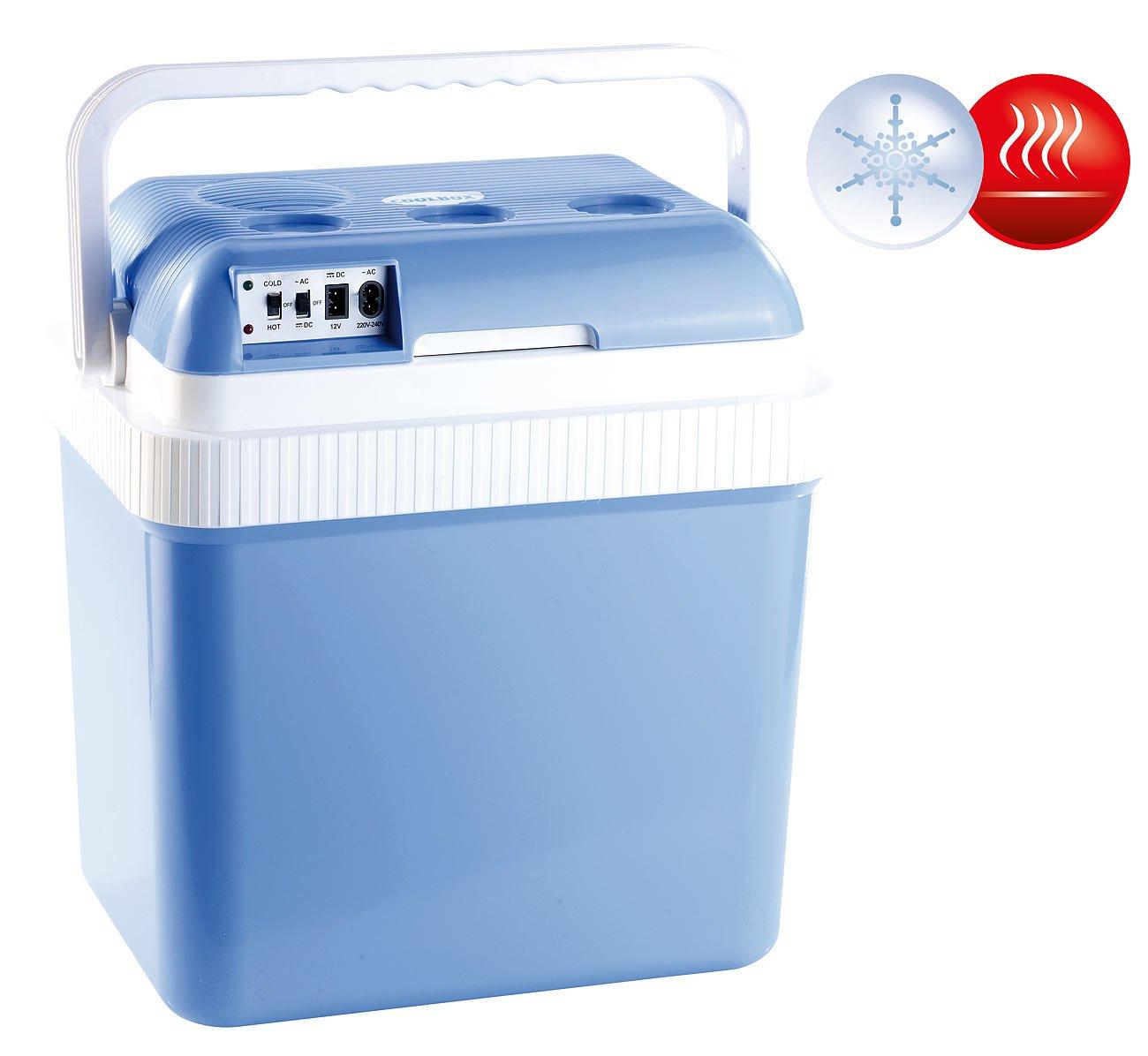 Xcase Mini Kühlschrank: Thermoelektrische Kühl- und Wärmebox, 24 l, 12 & 230 V Anschluss (Kühlbox Auto)