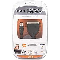 Belkin F5U002V1 USB Parallel Printer Adapter (Renewed)