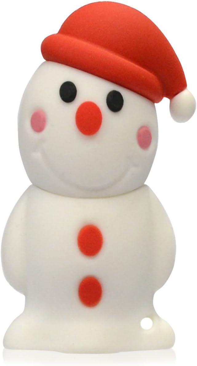818-Shop No7400040008 Memorias USB invierno muñeco de nieve 3d (8 ...