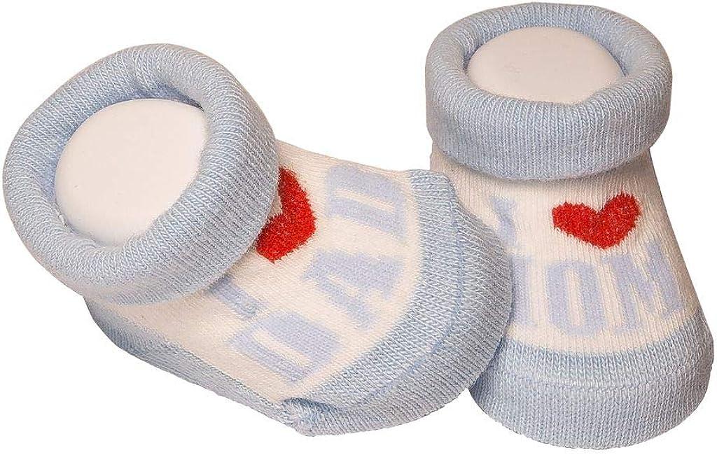 De regalo de calcetines para bebé Regalo único para baby shower o recién nacido para niños y niñas 1 par 0-3 meses: Amazon.es: Ropa y accesorios