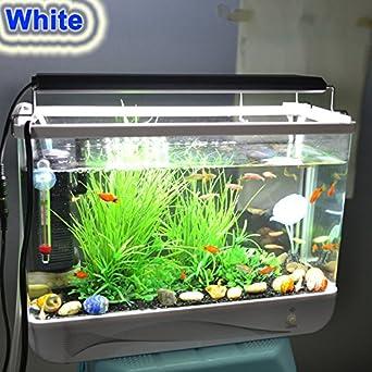 Hi-lumen RunQiao 76 cm 18 W 3 33 šV LED Acuario de alta calidad de aluminio con diseño de acuario de agua dulce de la iluminación de la iluminación de ...