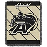 The Northwest Company ARMY BLACK KNIGHTS FULLBACK BABY TRIPLE WOVEN JACQUARD THROW