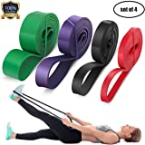 LEEKEY Resistance Band Set, Pull Up Assist Bands - Stretch Resistance Band - Mobility Band - Powerlifting Bands Resistance Training, Physical Therapy, Home Workouts
